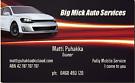 Big Mick Auto Services