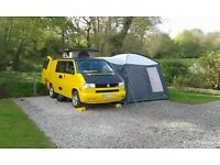 VW T4 Camper Van Ruby for hire Oxfordshire OX25 2QA
