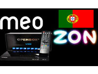 OPENBOX MEO & ZON PORTUGAL ALL CHANNELS