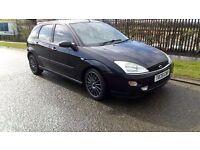 Ford focus 2.0 16v blacktop...mot aug...no rust...quick car