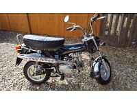 2007 JC 90 EASY RIDER, MONKEY BIKE 85CC