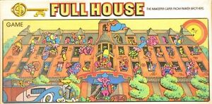 Full House The Innkeeper Caper Board Game Parker Brothers 1979