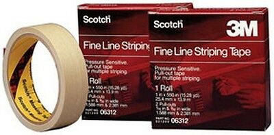 3M 6314 Scotch® Fine Line Striping Tape, 8 Pull Outs, 1