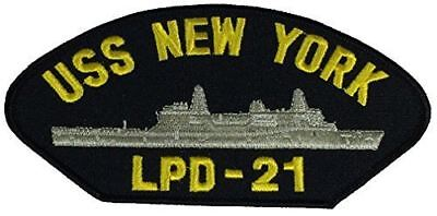 USS NEW YORK LPD-21 PATCH USN NAVY SHIP SAN ANTONIO CLASS AMPHIB TRANSPORT 911