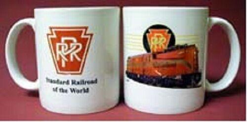 PENNSYLVANIA  RAILROAD GG1 COFFEE MUG RED cup / Train / PRR