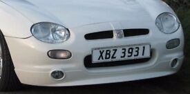 RARE MGF TROPHY CUP COMPLETE FRONT BUMPER/SPOILER