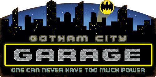 Batman Gotham City Garage Embossed Tin Sign [New ] Decor