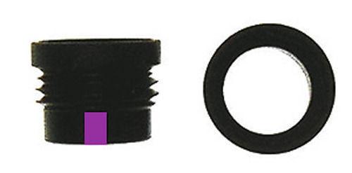 "Specialty Archery Verifier #5 Aperture 1/4"". Purple."