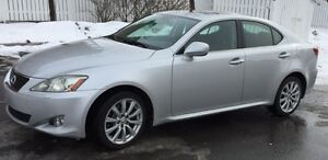 Lexus IS 250 AWD 2008 Silver - a vendre : 12,995$