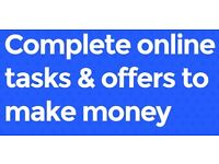 JOIN TODAY AND EARN £200 FOR COMPLETING OUR JOB TASKS ONLINE