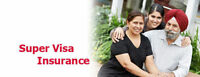 SUPER VISA INSURANCE at lowest price in Canada 647.323.4000
