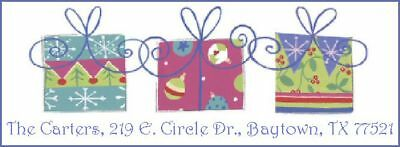 Presents Address Labels - ~PRESENTS FOR CHRISTMAS~  Return Address Labels