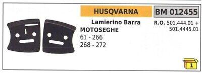 Kit Hojas Eléctricas Barra Lado Cadena Husqvarna Para Motosierra 61 266 268...
