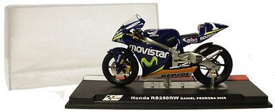 Ixo/altaya Alt35 Honda Rs 250rw 2005 - Daniel Pedrosa 1/24 Scale