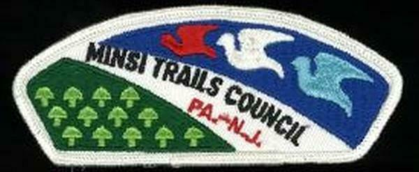 MINSI TRAILS COUNCIL WHT BDR T-1 CSP