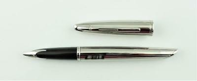 Waterman, Carene Contemporary Fountain Pen, Silver Plated