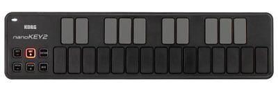 Korg Nano key 2 Black, Nanokey Version 2 25-key USB MIDI Controller Keyboard segunda mano  Embacar hacia Mexico