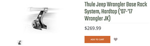 thule fit 300 Jeep