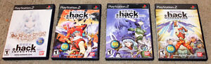 *Complete & Mint* PS2 .Hack Collection