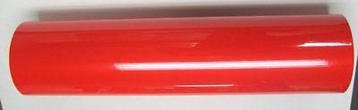 Red Reflective Sign Vinyl 24 X 6 Ft Plotter Cutter