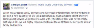 Music Music™ DJ, MC & Live Music Service! London Ontario image 7
