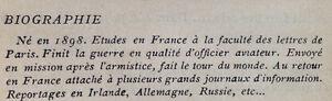 LE ONZE MAI, Paris 1924, seulement 70 exemplaires West Island Greater Montréal image 7