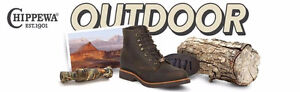 """Chippewa Men's 6"""" Rugged Handcrafted Lace-Up Boot 10EE NEW"""