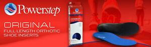 Powerstep Pinnacle Plus Insoles- Men's 11-11.5 ,brand new