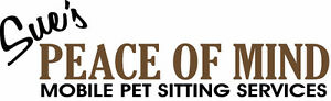Sue's Peace of Mind Mobile Pet Sitting Services