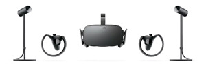 Oculus Rift full kit with sensors and controllers