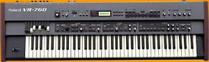Roland VR760 Combo Performance Keyboard  with case          CALL 905-822-7000