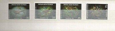 PAPUA NEW GUINEA TOPICAL SCOTT 645-8 MNH SCV $10