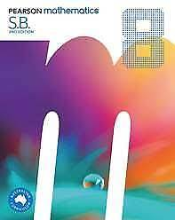 Year 8 Pearson Mathematics 8 Student Book with ebook access code