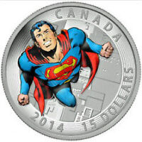Silver 2014 Superman Coin - Action Comics #419 from 1972