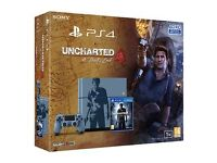 Limited Edition Uncharted 4 1TB Playstation 4 ( PS4 ), with 3 Games