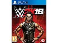 WWE 18 PlayStation 4