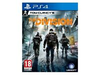 Tom Clancy's The Division - like new - (Sony PlayStation 4, 2016)