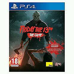 Friday the 13th ps4 game/ used once mint/ cash or swaps