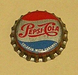 Vintage Pepsi Cola..cork..unused..Soda Bottle Cap #6