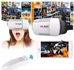 🎄🎁 Virtual Reality Headsets With free Bluetooth Controller 🎁🎄