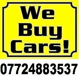 We will buy any car or van 07724883537