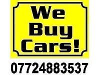 We Buy Any Car for Cash BEST price.07724883537