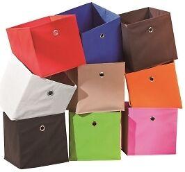 Faltbox 5er Set - Aufbewahrungs-Box aus Stoff faltbar