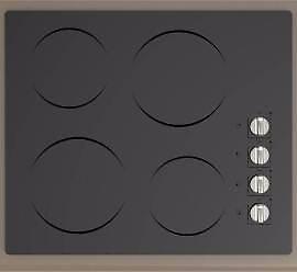 Plaque de cuisson noire en vitrocéramique 24'', Moffat
