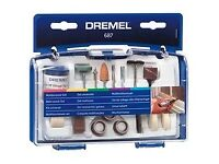 Dremel Universal Accessory Set (687) Multi - Purpose for Grinding, Polishing, Cutting, Sanding, etc.