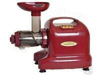 Matstone 6 in 1 Burgundy Juicer - 5 Years Parts and Labour Warranty and 12 Years Motor Warranty