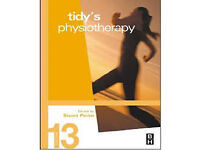 Tidy's physiotherapy (13th edition) for sale