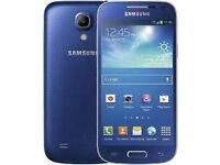 Samsung Galaxy S4 Mini Blue (Unlocked) in good condition