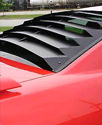 Wanted rear window louvers