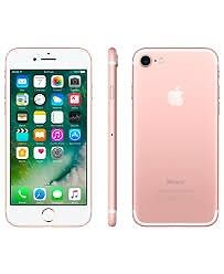 Iphone 7 rose gold 256gb as new, boxed and with apple warranty